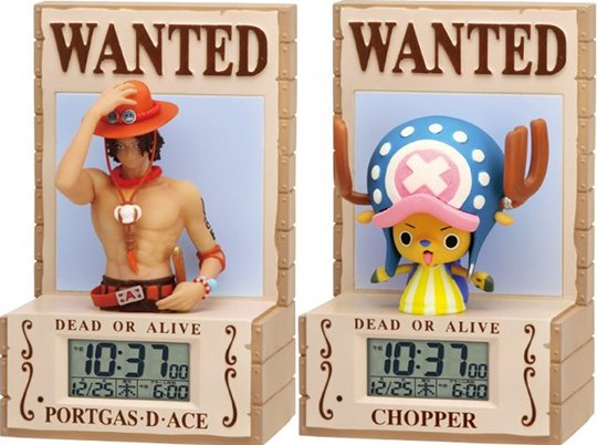 japan trend shop one piece 3d alarm clock. Black Bedroom Furniture Sets. Home Design Ideas
