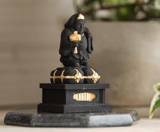 Daikokuten God Wooden Statue