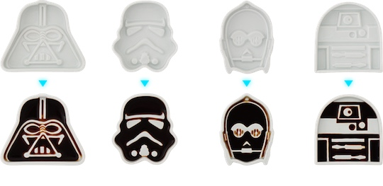 Star Wars Soy Sauce Dish Set