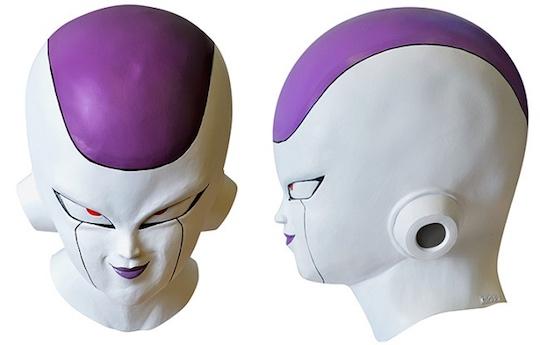 Dragon Ball Z Frieza Mask & Costume