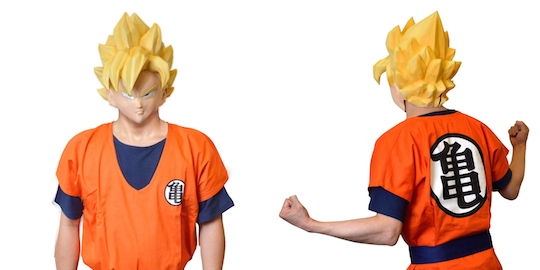 Dragon Ball Z Goku Mask & Costume