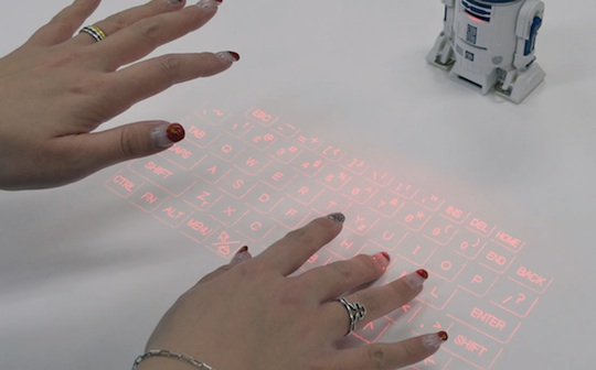 R2-D2 Original Sound Virtual Keyboard