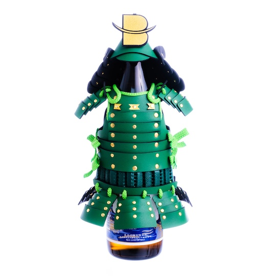 Samurai Armor Bottle Cover Special Green Version