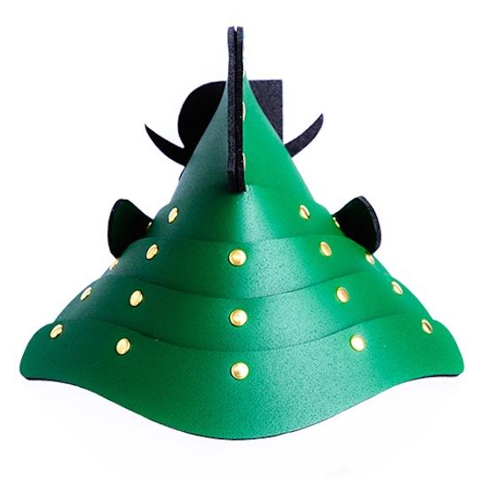 Samurai Armor Bottle Cover Special Green Version