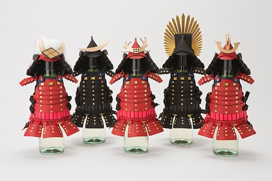 Samurai Armor Bottle Covers