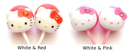 Hello Kitty Stereo Earphones
