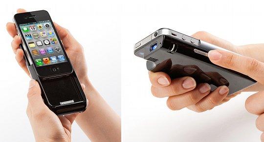 Monolith iPhone 4/4S Micro-Projektor von Sanwa