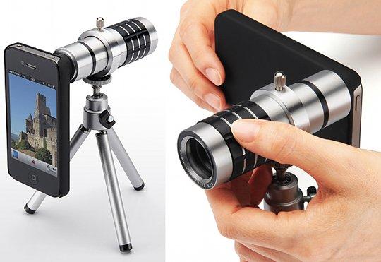 Sanwa iPhone 4, 4S Telephoto Zoom Lens