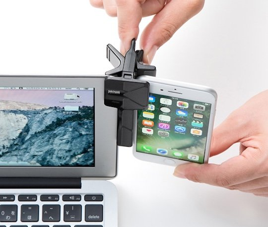 Smartphone Tablet Monitor Attachment Mount