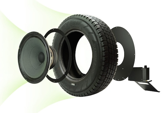 Seal Recycled Tires Speaker