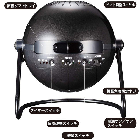 Homestar Classic Metallic Black