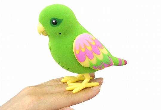 Bird Talking Toy : Japan trend shop pi chan talking bird