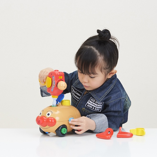 Self-assembly Anpanman Car Kit