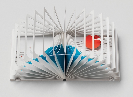 Mount Fuji 360-Degree Book by Yusuke Oono