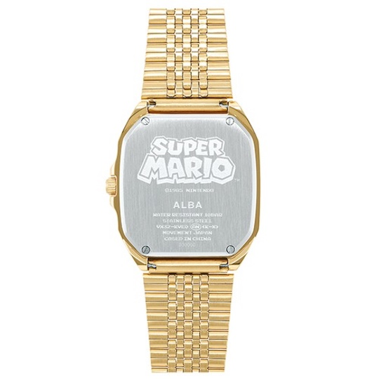 Seiko Alba Super Mario Famicom Series Watch
