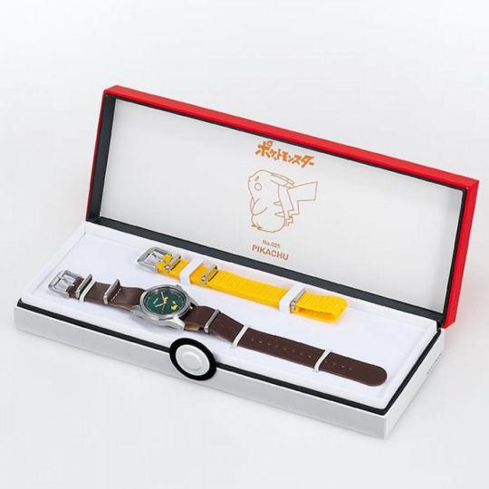 Seiko Pokemon Pikachu Watch Green