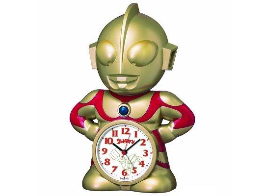 Ultraman Talking Gold Alarm Clock