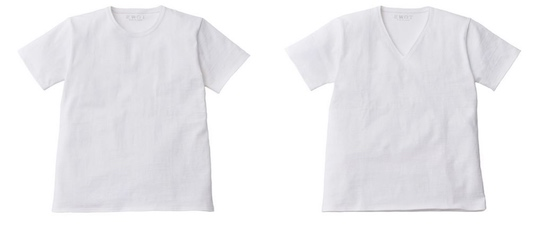 Seiso Shiro No-nipples White T-shirt