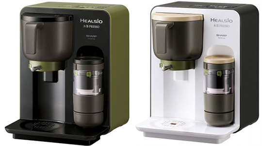Sharp Healsio Ocha Presso Japanese Tea Maker