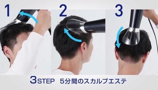 Sharp Plasmacluster Scalp Care Treatment Hair Dryer