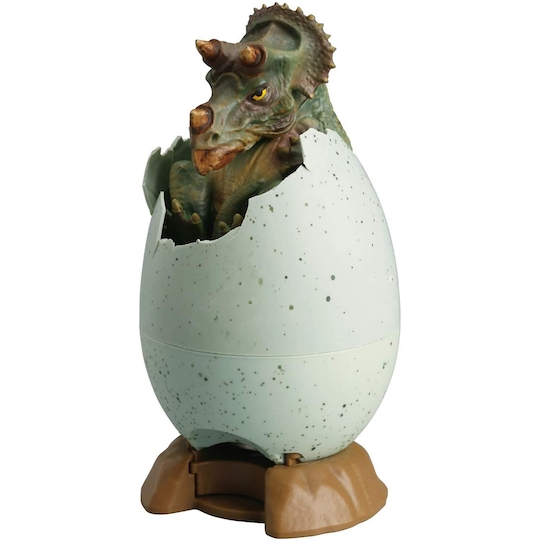 Hatching Triceratops Egg Coin Bank
