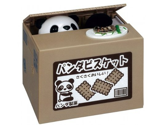 Itazura Bank Panda Coin Box