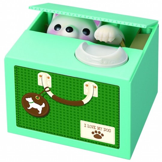 Naughty Puppy Voice-activated Itazura Coin Bank