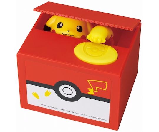 Pikachu Itazura Piggy Bank