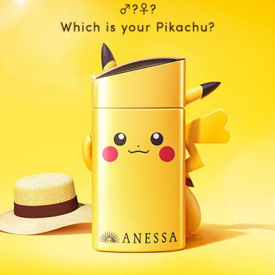 Shiseido Anessa Pokemon Pikachu Sunscreen
