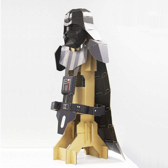 Cardboard Darth Vader Costume