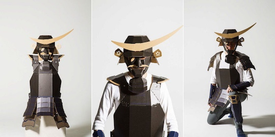 Kacchu Cardboard Samurai Armor for Adults