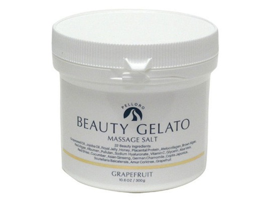 Pelloro Beauty Gelato Massage Salt Grapefruit