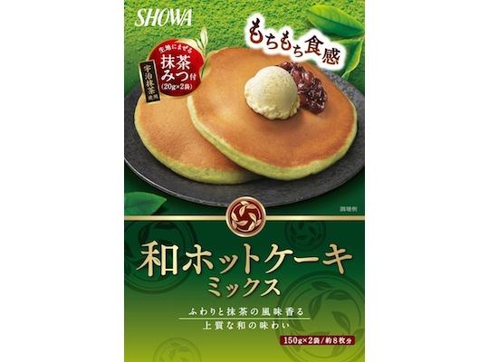 Wa Green Matcha Tea Hotcake Mix