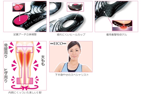 Slim Coach Jelly Insole