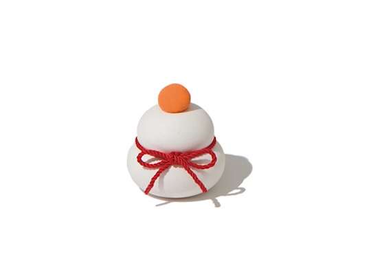 Kagami Mochi Diatomaceous Earth Ornament