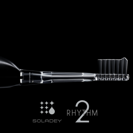 Soladey Rhythm 2 Matte Black Toothbrush