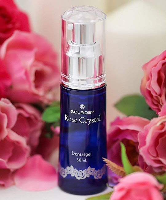 Soladey Rose Crystal Dental Gel