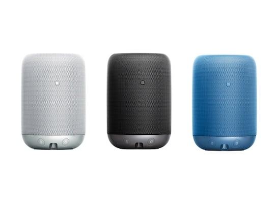 Voice-Activated Sony Smart Speaker LF-S50G