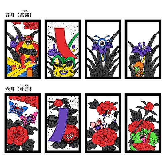 Dragon Quest Hanafuda Playing Cards