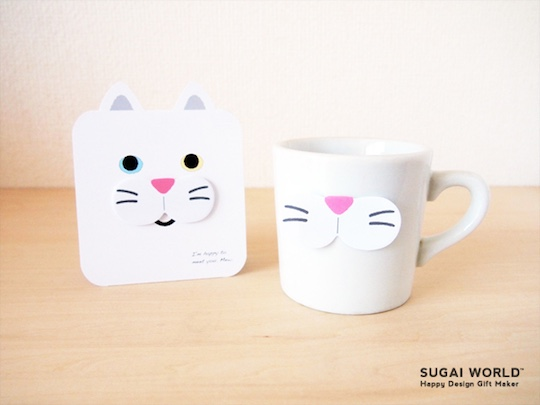 Cat Whisker Sticky Notes