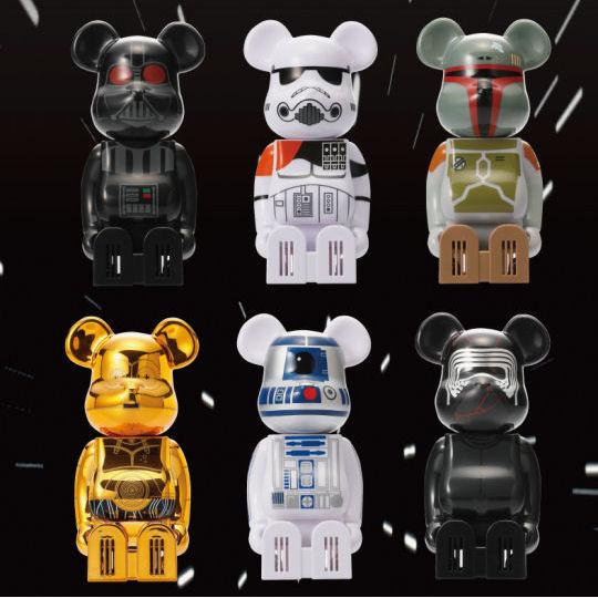 Be@rbrick Star Wars Cleverin Disinfectant Dispenser Set