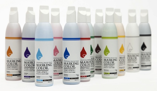 Masking Color Water Strippable Paint Large Pen