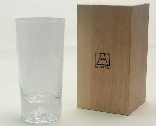 Edo Glass Mt Fuji Tumbler