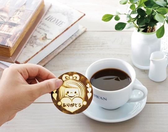 Japan Trend Shop Deco Latte Coffee Art Sheets Set