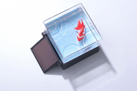 Solar-powered Robotic Goldfish