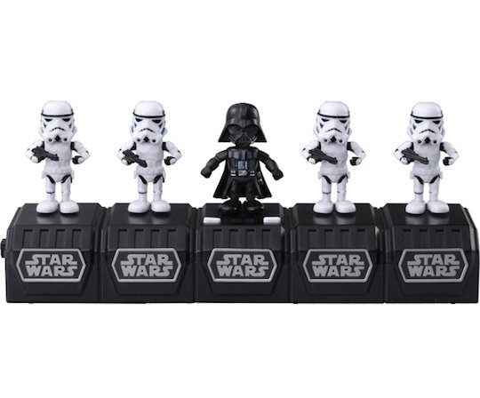 Star Wars Space Opera Dancing Darth Vader Stormtrooper Set