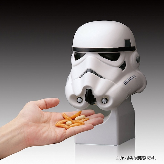 Star Wars Darth Vader Stormtrooper Helmet Snack Dispenser