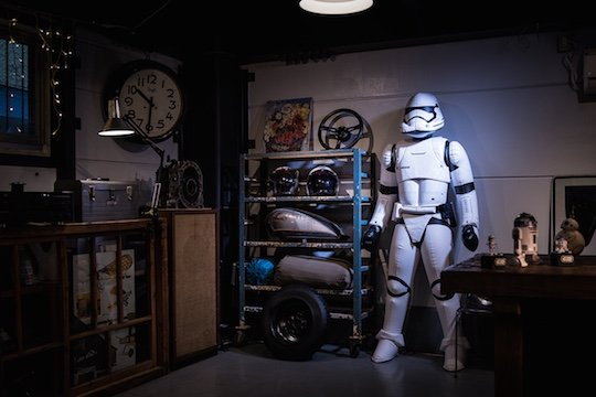 Star Wars Inflatable First Order Stormtrooper