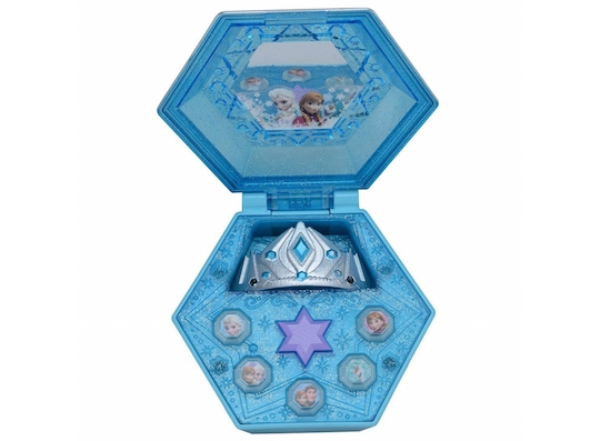 Frozen Crystal Compact Music Mirror Box