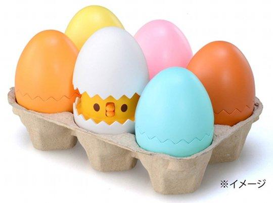 Hietama-chan Energy Saver Talking Chick Eggs